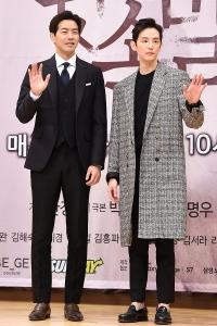 [HEI포토] 이상윤-권율, '두 남자의 멋진 모습'