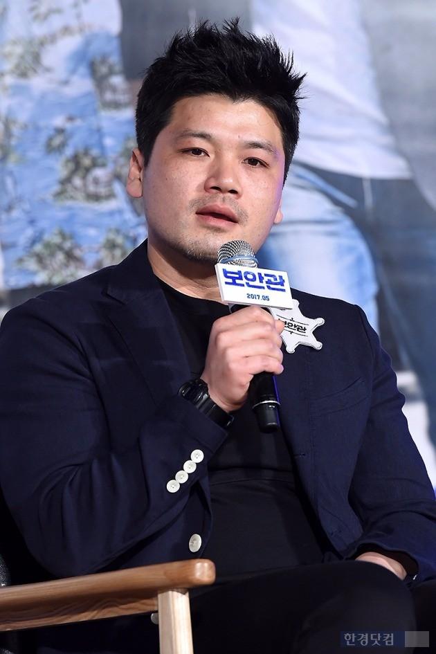 영화 보안관 제작보고회, 김형주 감독, 사진=변성현 한경닷컴 기자