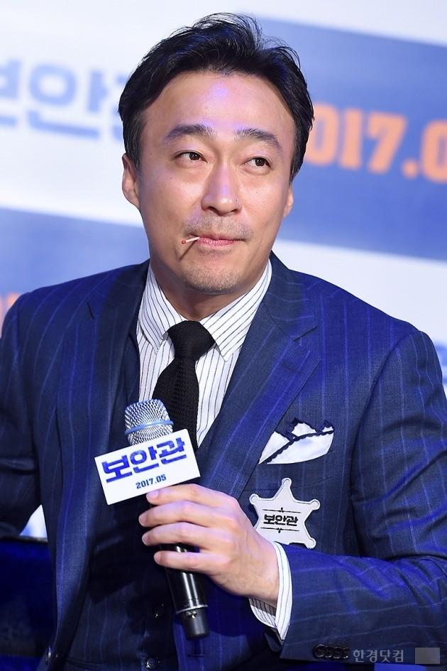 영화 보안관 제작보고회, 이성민, 사진=변성현 한경닷컴 기자