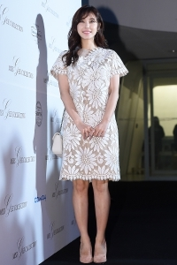 [HEI포토] 전효성, '꽃무늬 원피스 입고 단아하게~' (2017 F/W 서울패션위크)