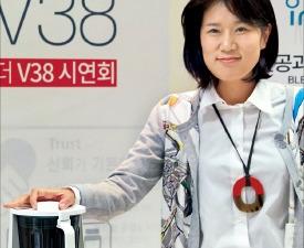 """비데 혁신 주도한 권지혜 """"블렌더로 주방가전 진출"""""""