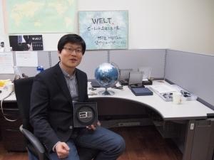 """""""예방의학 시대를 선도하는 '스마트 의사' 되겠다"""" 강성지 웰트 대표"""