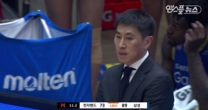 삼성 이상민 감독 PO 1차전 승리 인터뷰