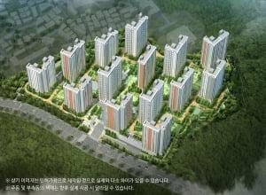 대림산업 'e편한세상 추동공원 2차' 내달 분양