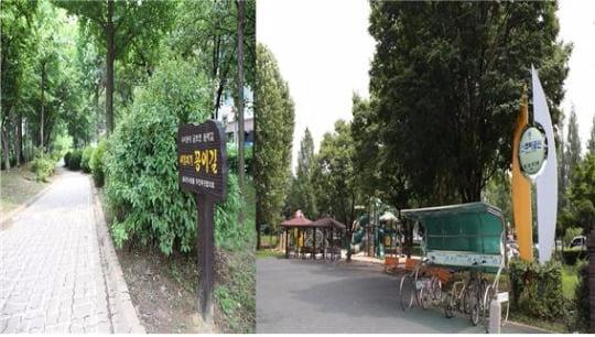'부평구청역 대명벨리온'과 가까운 굴포천 생태하천과 신트리 공원