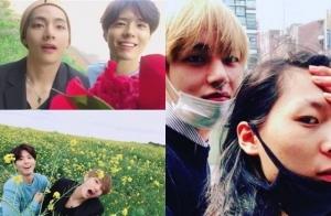 방탄소년단 뷔, 박보검부터 장문복까지…아이돌 인맥王 인정