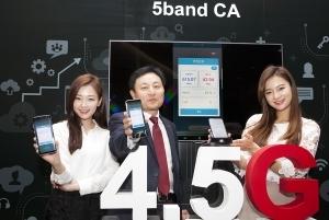SKT, 9배 빠른 LTE로 4.5G 시대 연다…갤럭시S8 적용