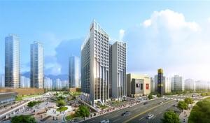 [스타즈호텔 메타폴리스①규모]수요 꾸준한 비즈니스호텔 440실 '지역 최대 규모'