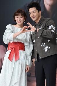 최강희-권상우, '다정하게 하트~'