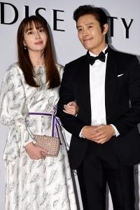 [HEI포토] 이민정-이병헌, '완벽한 비주얼의 부부'