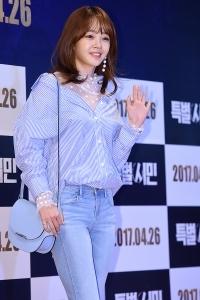 [HEI포토] 김보미, '깜찍한 모습에 시선강탈~'