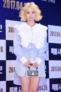 [HEI포토] 맹승지, '깜찍한 금발 미녀~'