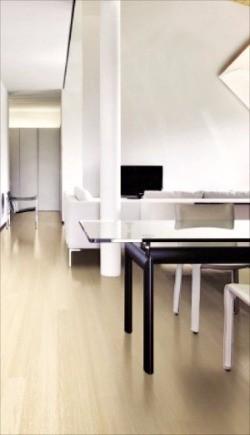 깨끗한 실내공간을 연출해 주는 에스비마루 쉬폰화이트.