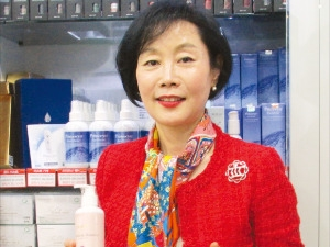 김도연 더스킨컴퍼니 대표, 피부관리에 과학 접목…국가대표 '미용 박사'