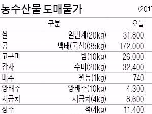 [농수산물 시세] 금치 된 갈치…한 달새 16%↑