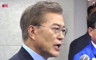 문재인 'D-1 굳히기' 기술…홍준표 '견제구'