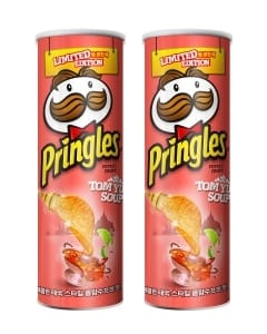 프링글스, 한정판에 태국의 맛 담다…'프링글스 �c얌꿍' 출시