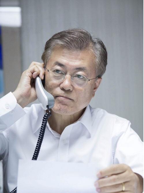 문재인 대통령_청와대 제공