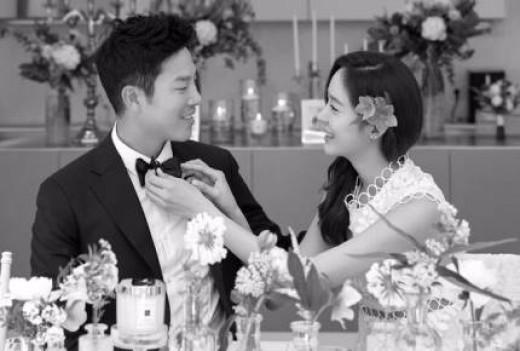 안성현♥성유리 극비리 결혼식 /에스엘이엔티