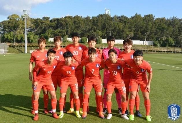 대한민국 U-20 월드컵 대표팀. 사진=대한축구협회
