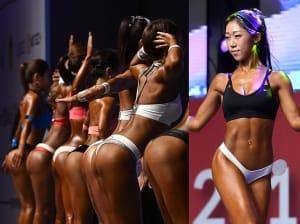 머슬女, 성난 근육 과시…다이어트 욕구 '활활'