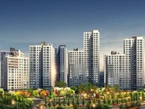 [한강신도시 예미지 뉴스테이①규모]내년 10월 입주하는 선시공 아파트 1770가구 대단지