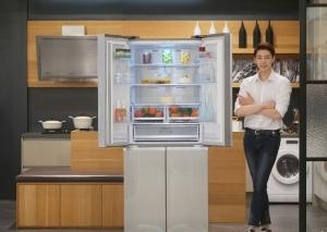 삼성전자, 1~2가구 겨냥 '슬림 T타입 냉장고' 출시