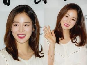 '기승전여신' 김태희 '결혼-임신 겹경사에 미모가 더 활짝'