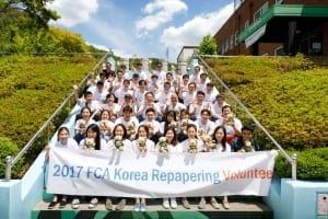 FCA코리아 임직원, 장애 아동 위한 봉사활동 실시
