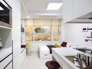 [미사 우성 르보아파크Ⅱ③평면]주거·호텔형 두 가지 설계…수납공간 '알뜰'