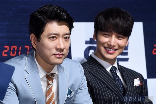 배우 김명민, 변요한 / 사진=최혁 기자