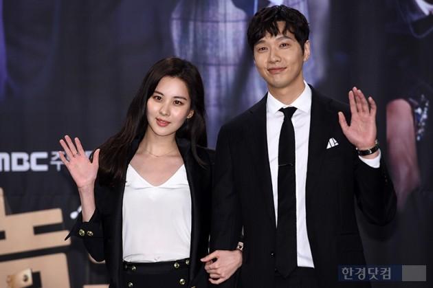 그룹 소녀시대 서현, 배우 지현우 / 사진=최혁 기자