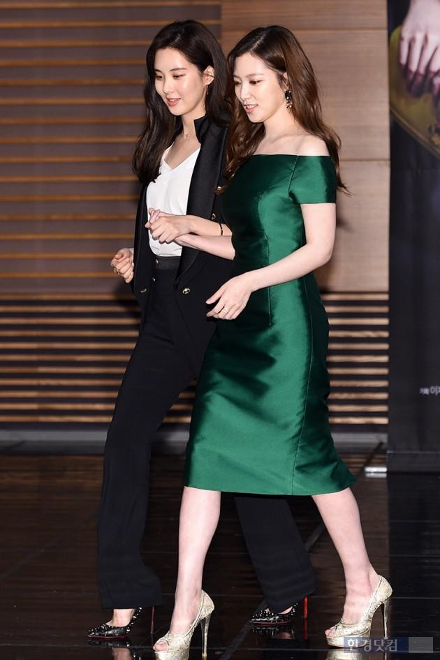 그룹 소녀시대 서현, 배우 임주은 / 사진=최혁 기자