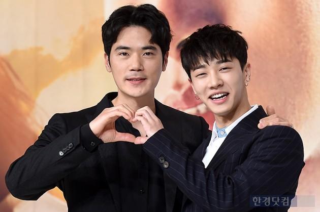 배우 김강우, 이기광 / 사진=변성현 기자