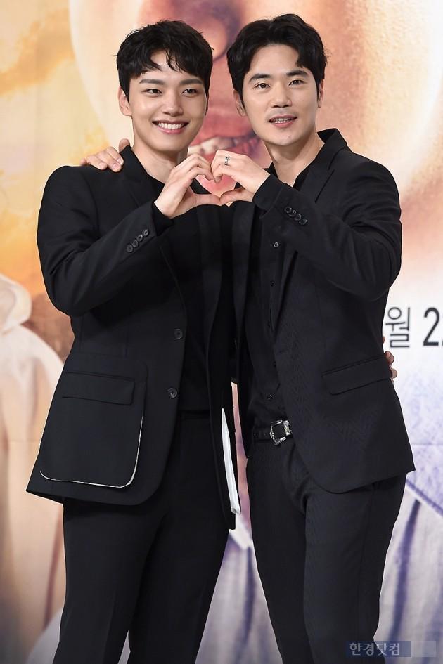 배우 여진구, 김강우 / 사진=변성현 기자