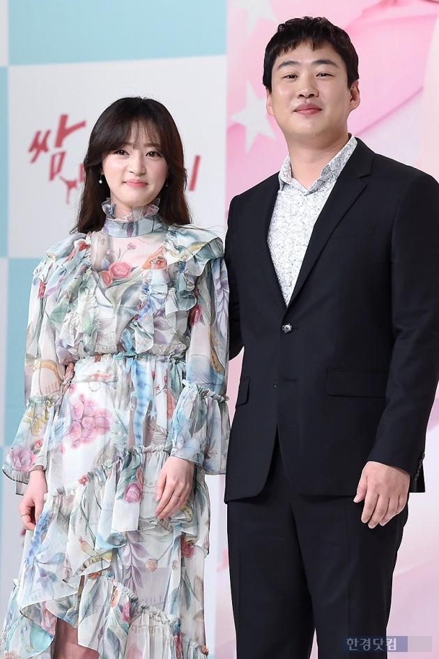 배우 송하윤(왼쪽), 안재홍 / 사진=변성현 기자