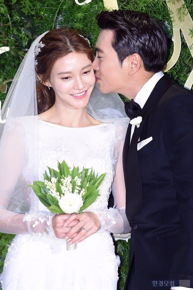 배우 차예련, 주상욱 결혼 / 사진=최혁 기자