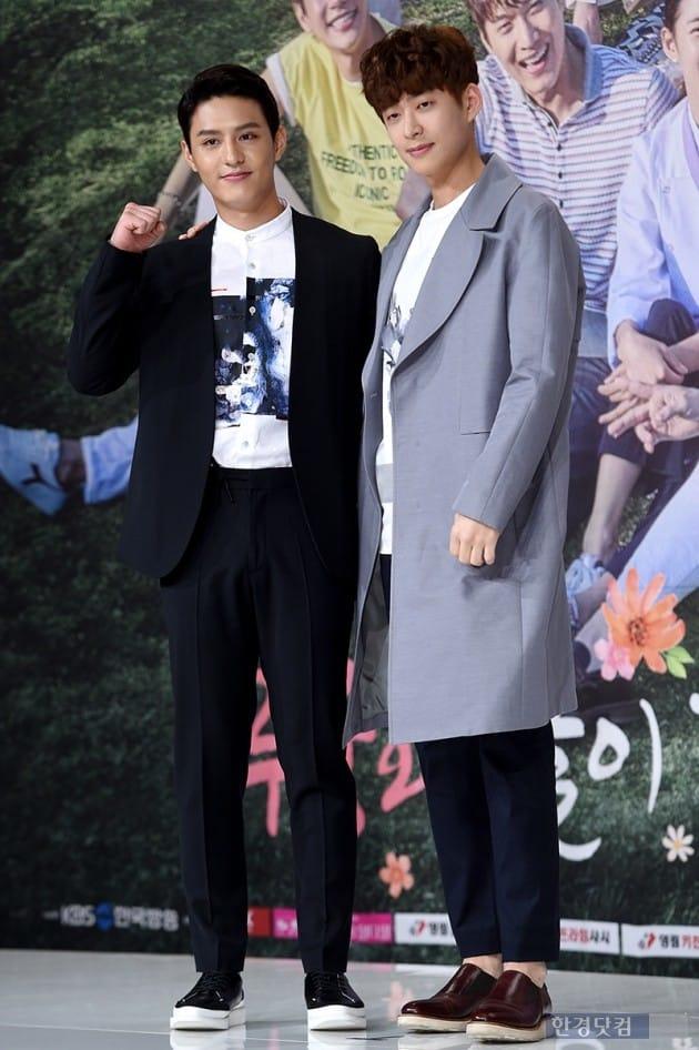 배우 도지한, 이창욱 / 사진=최혁 기자
