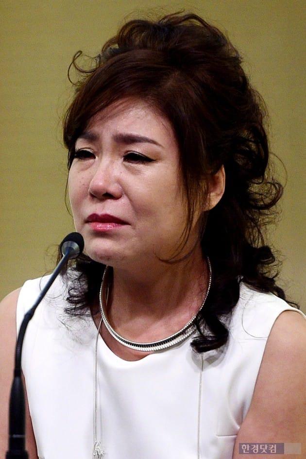 송대관 폭언 논란 홍상기 대표 기자회견, 김연자 / 사진=최혁 기자