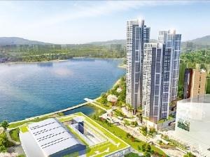 광교컨벤션 꿈에그린, 호수공원 조망 '아파트 같은 오피스텔'