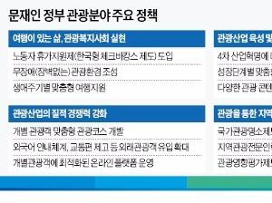 문재인 정부 '관광정책' 민간에 문 연다