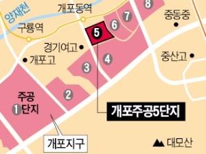 개포택지지구 '중층 재건축' 탄력 받았다