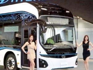 1회 충전  300㎞ '거뜬'…현대차, 전기버스 2018년 달린다