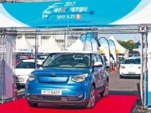 자동차 동력전환 앞당기는 EV 랠리