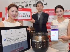 쿠쿠전자, 40주년 기념 IoT 신제품 출시