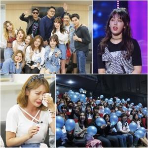 '언니들의 슬램덩크2' 언니쓰, '뮤직뱅크' 데뷔 비하인드 공개