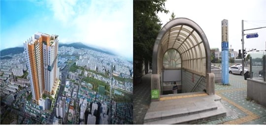 지하철 1.7호선 더블역세권에서 들어서는 '부평구청역 대명벨리온' 오피스텔