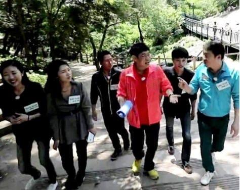 냄비받침_대선후보 마크맨들과 만난 이경규