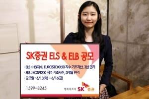 SK증권, 16일까지 3개월 만기 ELB 등 2종 공모