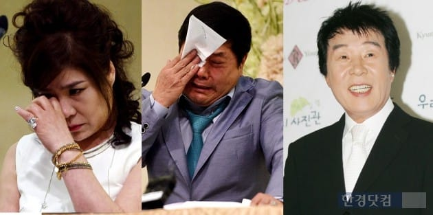 김연자, 홍상기, 송대관 / 사진 = 한경DB